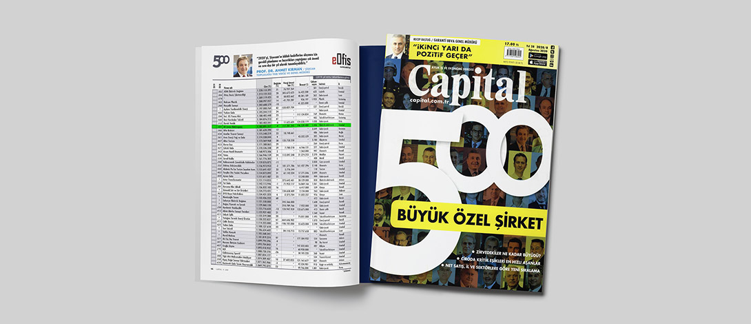 AE Arma-Elektropanç is Listed in Capital 500 Türkiye 2019