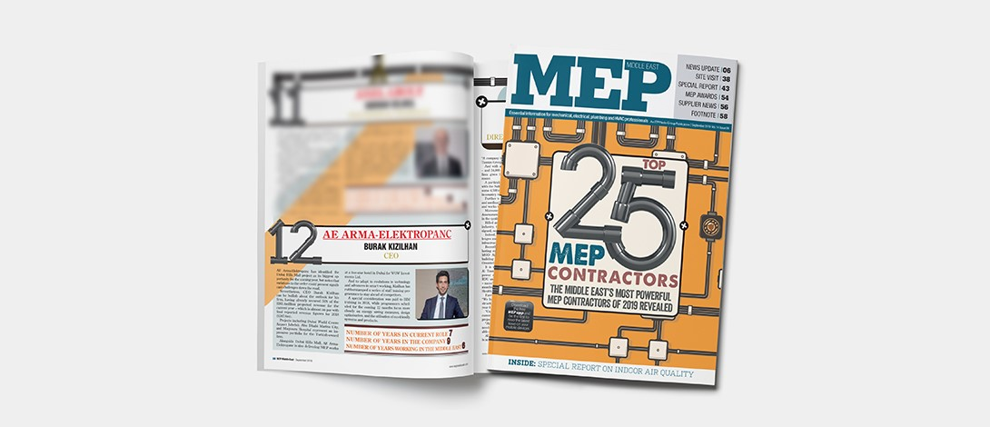 AE Arma-Elektropanç Is One Of The Largest MEP Contactors Of The Middle East
